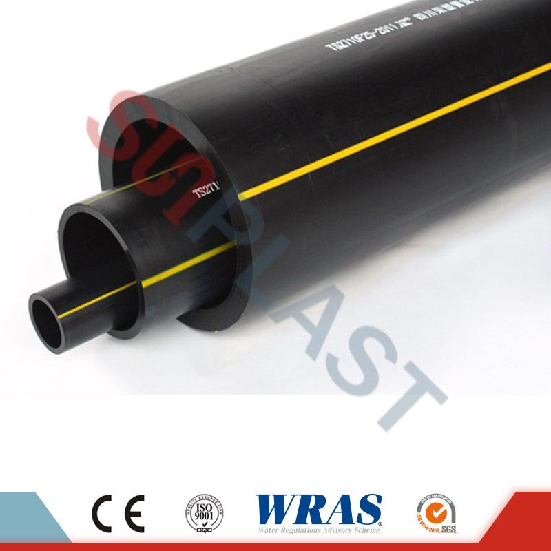 Yellow Poly Gas Pipe