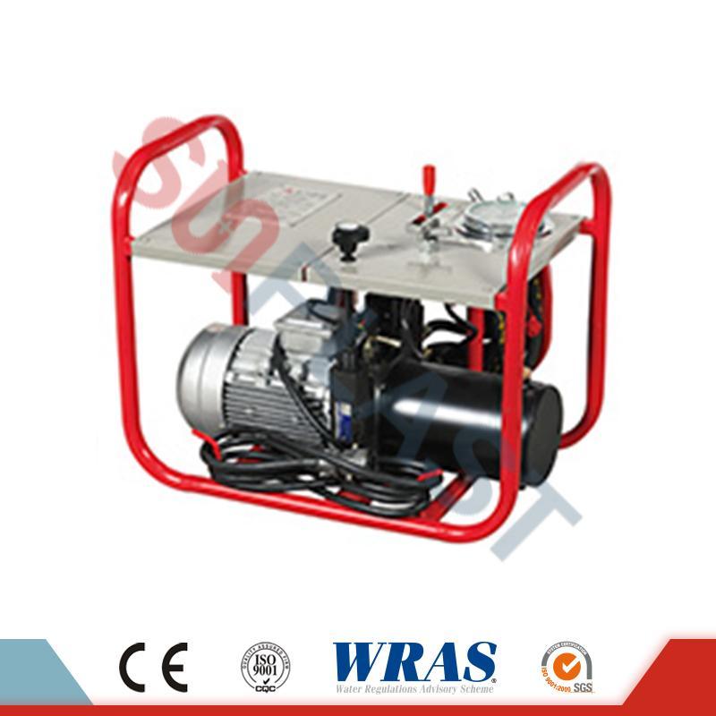 90-250 mm hidrauliko Butt Fusion soldadura makina HDPE kanalerako