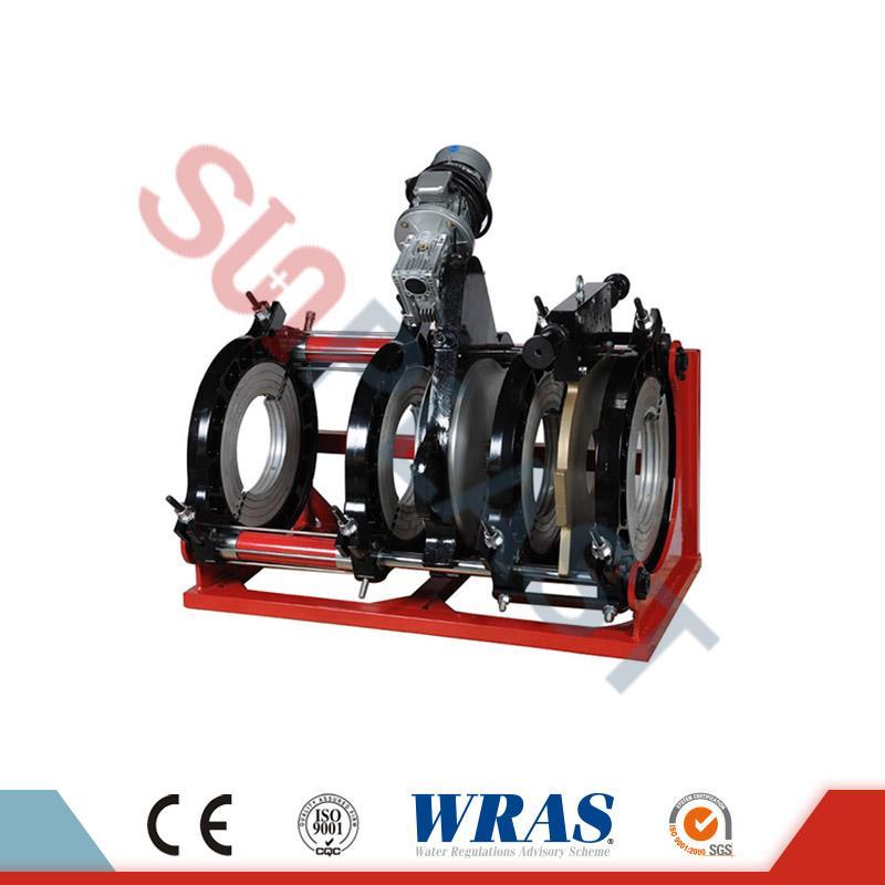 630-800mm Butt Fusion Hidraulikoa Soldadura HDPE kanalerako makina