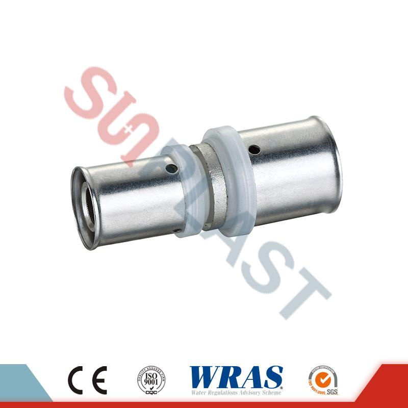 Brass Press Coupling Coupler